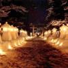 【中止】灯り・祈り・心つなぐ 米沢上杉灯籠まつり & 喜多方ラーメンフェスタ